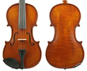 Gliga I Violin Outfit 1Pc-Back Dark Ant w/Violino 4/4