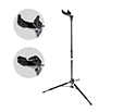 BEAM CELLO STAND- Auto Grip Black