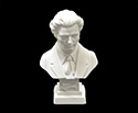Bust 11cm-Crushed Marble Chopin