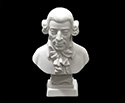 Bust 11cm-Crushed Marble Haydn