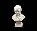 Bust 11cm-Crushed Marble Mozart