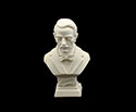 Bust 11cm-Crushed Marble Puccini