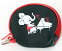 Coin Purse-Elephant w/Piano