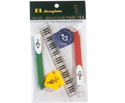 Stationery Set Pens/Clips/Ruler