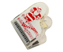Pickboy Clip - Piano Shape Santa Design