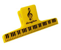 Clip (Large) Yellow Piano Keys