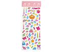 Stickers-Crystal Clefs & Notes