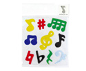 Window Stickers (10 Large) Music Notes