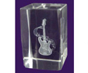 Paper Weight (Crystal) 30X45 Guitar