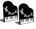 Book Ends (Black metal) Keyboard & Music Score design
