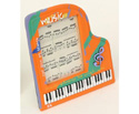 Picture Frame - Grand Piano Orange