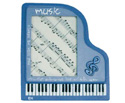 Picture Frame-Grand Piano Blue