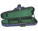 Shaped Violin Case-FPS Woodshell Suspension -3/4