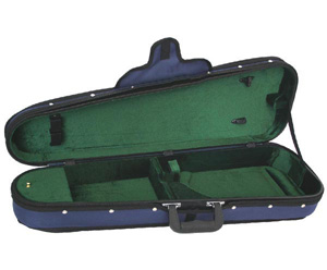 Shaped Violin Case-FPS Woodshell Suspension -1/8