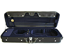 TG Oblong Violin Case-Hill Style Superior Blk/Blue