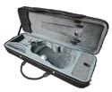 TG Oblong Violin.Case-Lightweight-Black/Grey 4/4