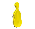 Cello Case-Fibreglass-Bobelock-Yellow