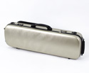 Oblong Violin Case-HQ Polycarbonate-Br.Champagne