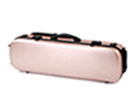 Oblong Violin Case-HQ Polycarbonate-Rose Gold