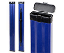 Double Bass Bow Case-Single French/German Alumin-Blue