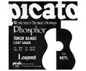 Picato Banjo Set - Tenor Nickel (9-28) 927L