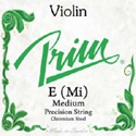 Prim (Sweden) Violin E Med (Green)