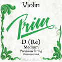 Prim (Sweden) Violin D Med Green