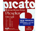 Picato Acoustic Set-Ph/Bronze (013-056) 650M