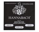 Hannabach Single BLK/Medium Silver E 6th 8006