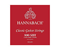 Hannabach Classic Set-Silv.E800 Red S/HighT