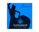 Hannabach Classical Set-Flamenco 827 Blue