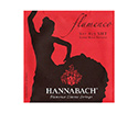 Hannabach Classic Set-Flamenco E827 Red