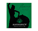 Hannabach Classical Set-Flamenco 827 Green