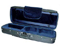 Oblong Viola Case-Bobelock BlueVelr 16in