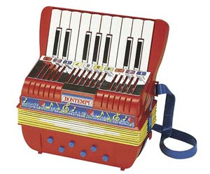Music Toy-Accordion 17 Keys & 6 Bass