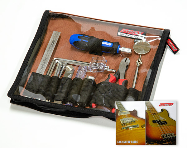 GrooveTech Acoustic Guitar Tech Kit w/ Easy Setup Guide