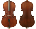 Enrico Student Plus II Cello Outfit - 1/2