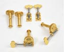 Double Bass Machine Heads-Rubner Gold Deluxe