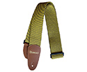 Basso Guitar Strap - Cotton Tweed Yellow EX04
