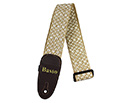 Basso Guitar Strap-Cotton Native Straw EX10