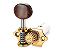 Schaller GrandTune Singles 3/3 Classical-Gold/Snakewood Wh