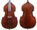 J Francis Double Bass Outfit-Solid Top & Back